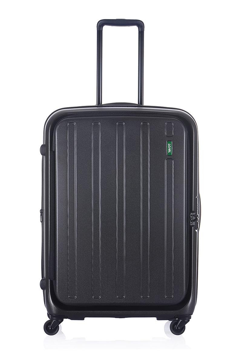 【加賀皮件】CROWN 皇冠 LOJEL 防盜拉鍊 霧面 前開 多色 可擴充加大 27吋 旅行箱 行李箱 C-F1398
