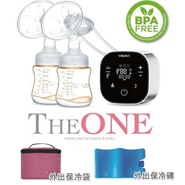 優合YOUHA THEONE 雙邊電動吸乳器 高規格PPSU奶瓶 吸奶器 擠乳器 擠奶器 溫奶器 ✿樂穎✿ 0
