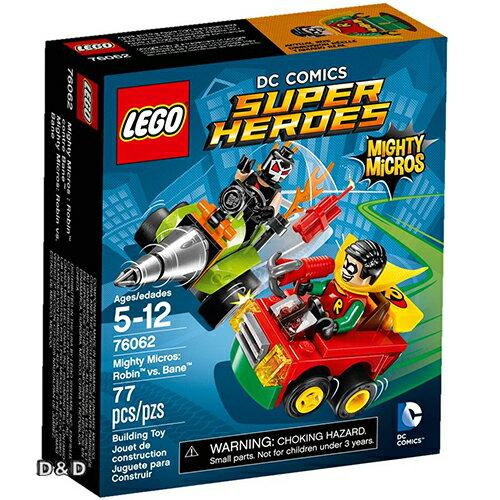 樂高積木 LEGO《 LT76062》SUPER HEROES 超級英雄系列 - Mighty Micros: Robin vs. Bane