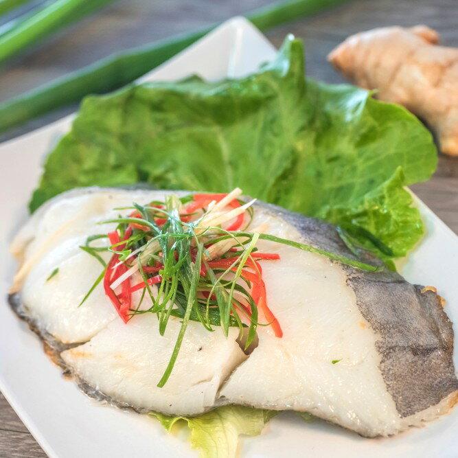 《溢源水產》★格陵蘭鮮嫩厚切扁鱈(比目魚)★新手媽媽的拿手菜怎麼蒸都好吃的鱈魚