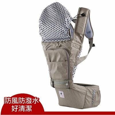 Pognae NO.5超輕量機能坐墊型背巾/揹巾/揹帶/背帶-摩卡【六甲媽咪】