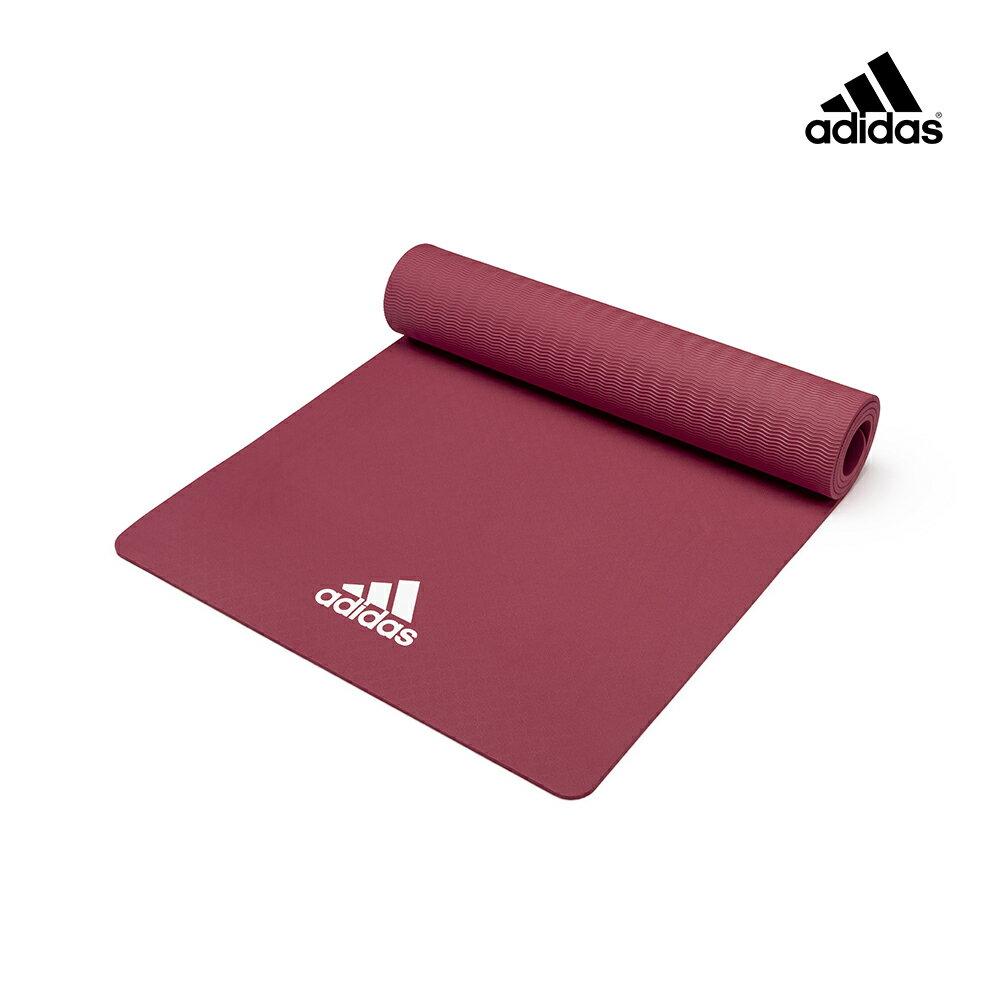 【Adidas愛迪達】輕量波紋瑜珈墊-8mm(共兩色) 3