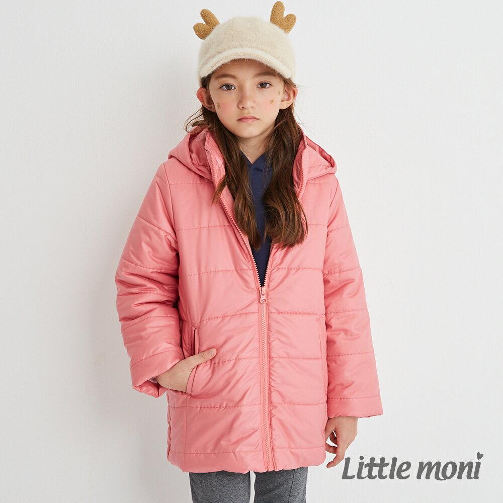 Little moni 3M科技羽絨保暖外套-熱情粉(好窩生活節) 1
