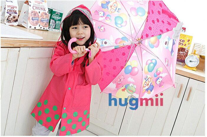 Smally動物圖案長版寶寶兒童雨衣附收納提袋(現貨+預購)