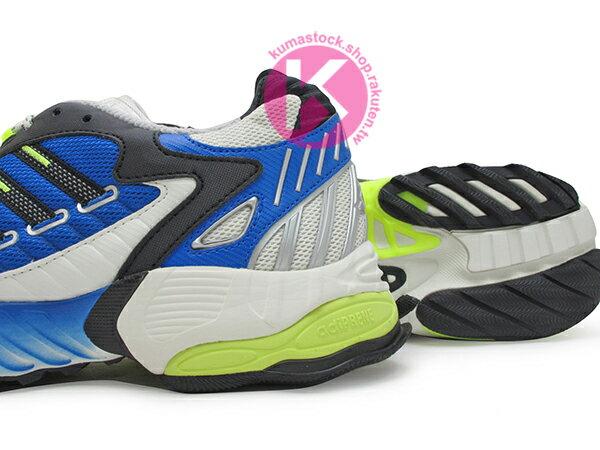 2019 限量發售 九零年代經典跑鞋重現 adidas Consortium TORSION TRDC 灰藍黃 老爹鞋式樣跑鞋 專利抗扭科技 (EE7999) ! 3