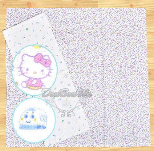 KITTY新幹線嬰兒紗布包巾浴巾澡巾純棉滿版凱074760新08653海渡