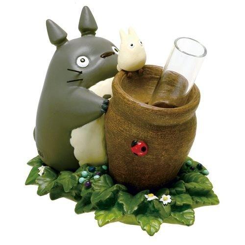 【真愛日本】14072700030花器-一輪插風寶壺 龍貓 TOTORO 豆豆龍 造型花器 花盆 日本帶回