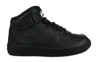 NIKE AIR FORCE 1 MID 黑 高筒 小童鞋 US 1~13 314196-004 E