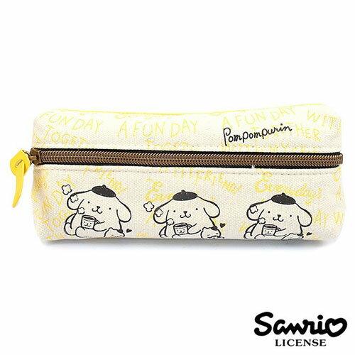 【 】布丁狗 Pom Pom Purin 三麗鷗人物 雙層 筆袋 鉛筆盒 Sanrio - 857924