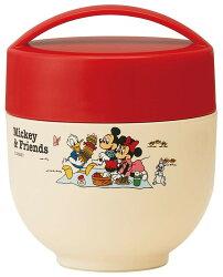 X射線【C421983】米奇Mickey 超輕量圓型手提不鏽鋼保溫餐罐540ml,保溫保冷/便當盒/保溫罐/食物罐