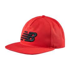 NEW BALANCE 棒球帽 舒適 LOGO 繡花 紅【運動世界】500196-600