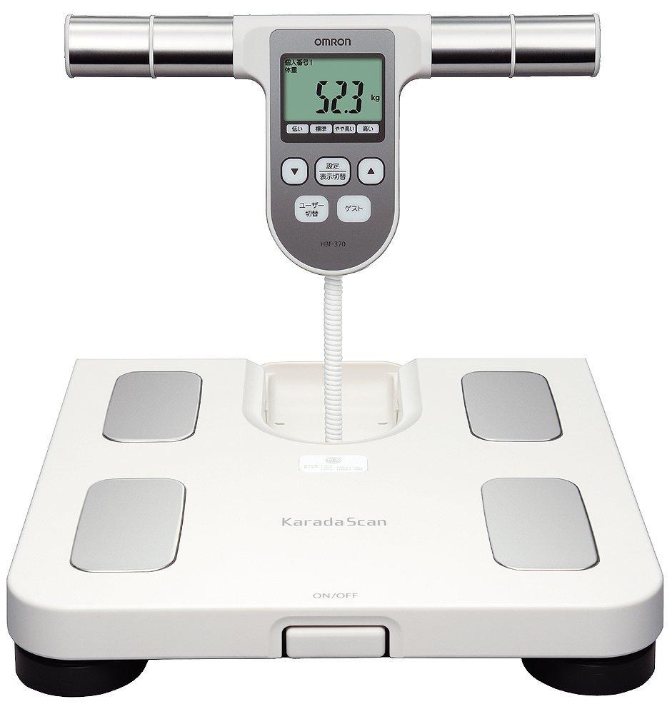 【醫康生活家】OMRON歐姆龍體重體脂計 (白色) HBF-370(需訂購請電洽)