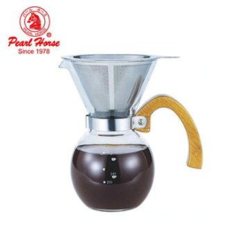 【日本寶馬】多功能手沖壺(咖啡/茶葉)500ml (泡茶壺 咖啡壺 手沖咖啡 泡茶用品 咖啡用品)
