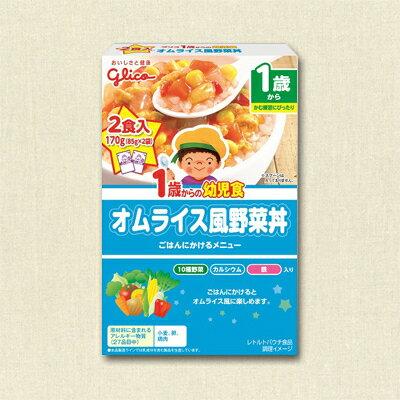固力果1歲蔬菜親子丼-藍170g