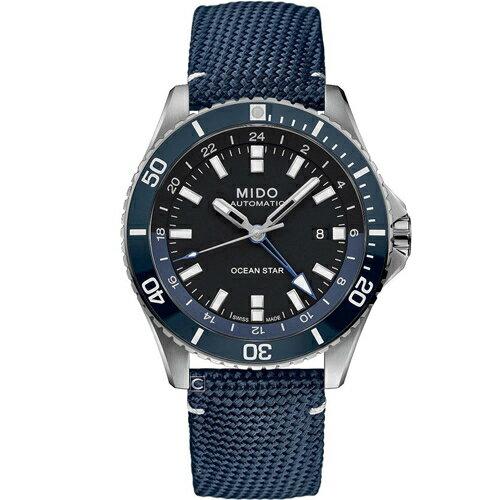 【樂天雙12/單筆滿3000元登記就抽PS5!】MIDO美度 Ocean Star 海洋之星 GMT雙時區 200米潛水機械錶 M0266291705100