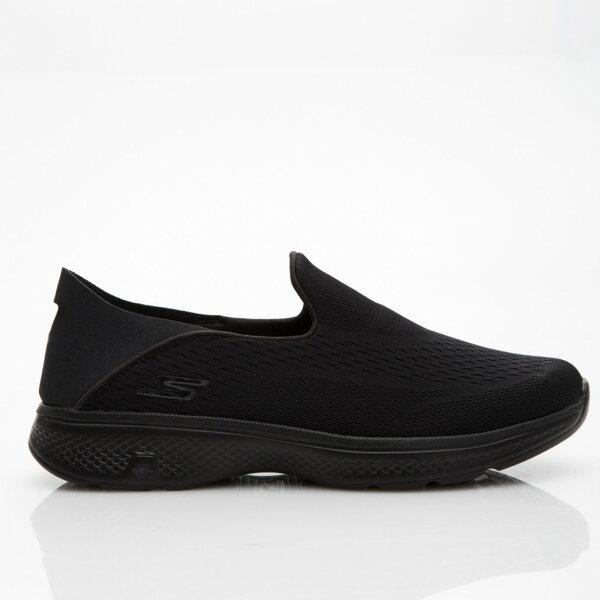 SKECHERSGOWALK4男鞋健走輕量網布懶人鞋耐磨輕量透氣黑【運動世界】54684BBK