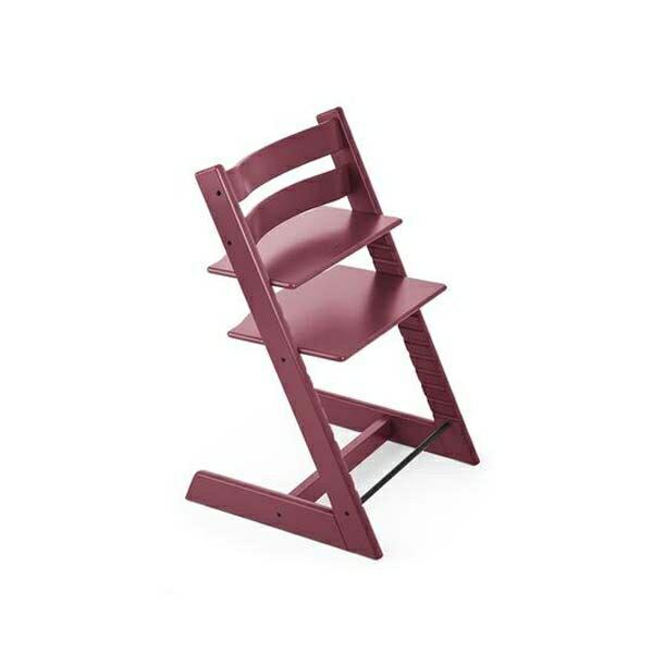 STOKKETrippTrapp®成長椅(櫸木海瑟粉)餐椅