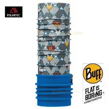 ├登山樂┤西班牙BUFF躲貓貓兒童POLAR保暖頭巾#BF113426-937-10