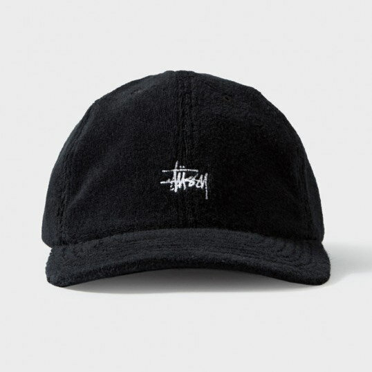 Stussy Terry Fleece Ball Cap - 刷毛 老帽 LOGO 美國 紐約 新品 免運
