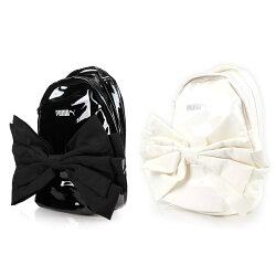 PUMA 蝴蝶造型後背包 (雙肩包 肩背包 漆皮【05481484】≡排汗專家≡