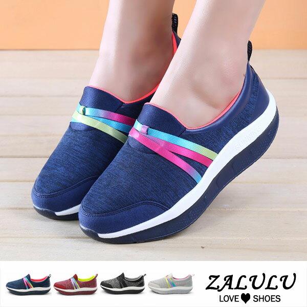 ZALULU愛鞋館BD269預購獨家設計。耐久耐站舒適休閒包鞋-深藍酒紅深灰灰-36-40