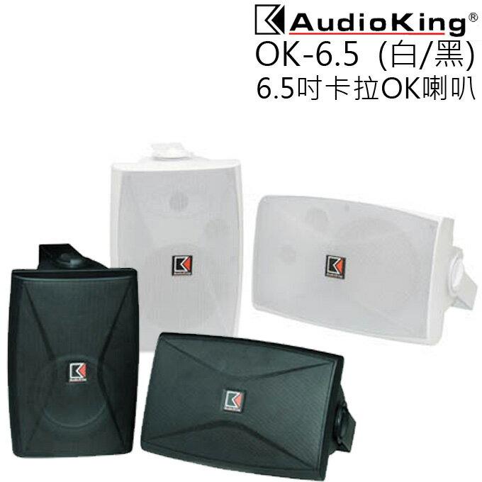 <br/><br/>  卡拉OK喇叭 ★ AUDIO KING OK-6.5 6.5吋 公司貨 0利率 免運<br/><br/>