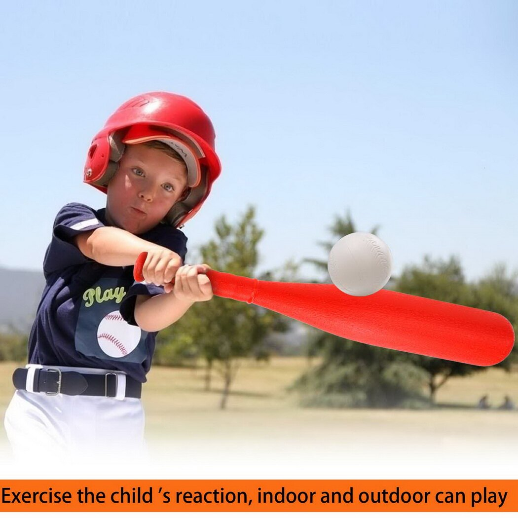 T-Ball Set, 2 Oversized Baseballs, Kids Sport tools 6