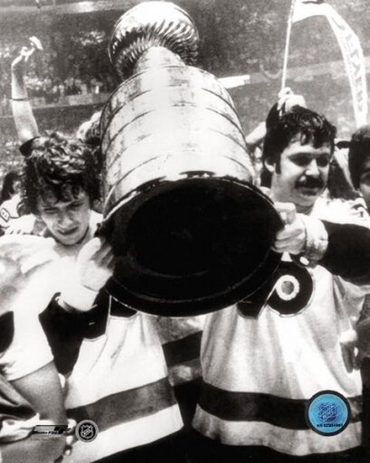 Bobby Clarke & Bernie Parent with Stanley Cup Photo Print (20 x 24) fe6b18987bf947b6322c24e8be40f136