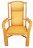 【MSL】黃金太師椅 / 盤腿椅 / 靜坐椅 0