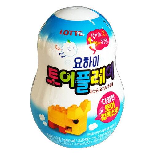 有樂町進口食品 韓國 LOTTE益智玩具巧克力出奇蛋 K42 88010626452006