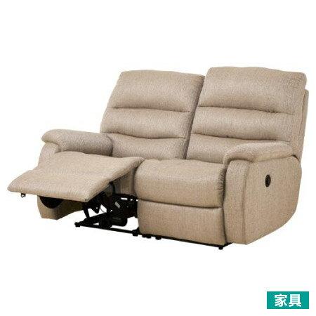 ◎布質2人用電動可躺式沙發 BELIEVER2 YL-BE