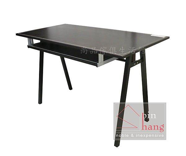 【尚品家具】782-01 米歐 馬鞍皮4尺電腦桌/書桌/辦公桌(有插座)