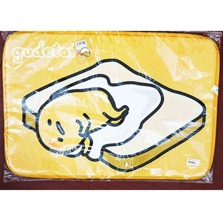 [敵富朗超市]蛋黃哥地墊-吐司