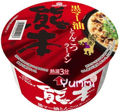 [日本九州風味拉麵]丸太熊本黑麻油豚骨碗麵 76g