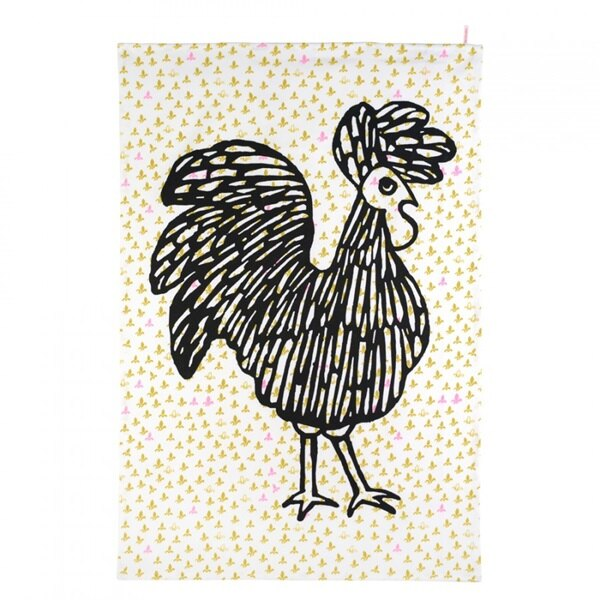 《法國 La Cocotte Paris》Ochre Lysette Riko Tea Towel 茶巾 2