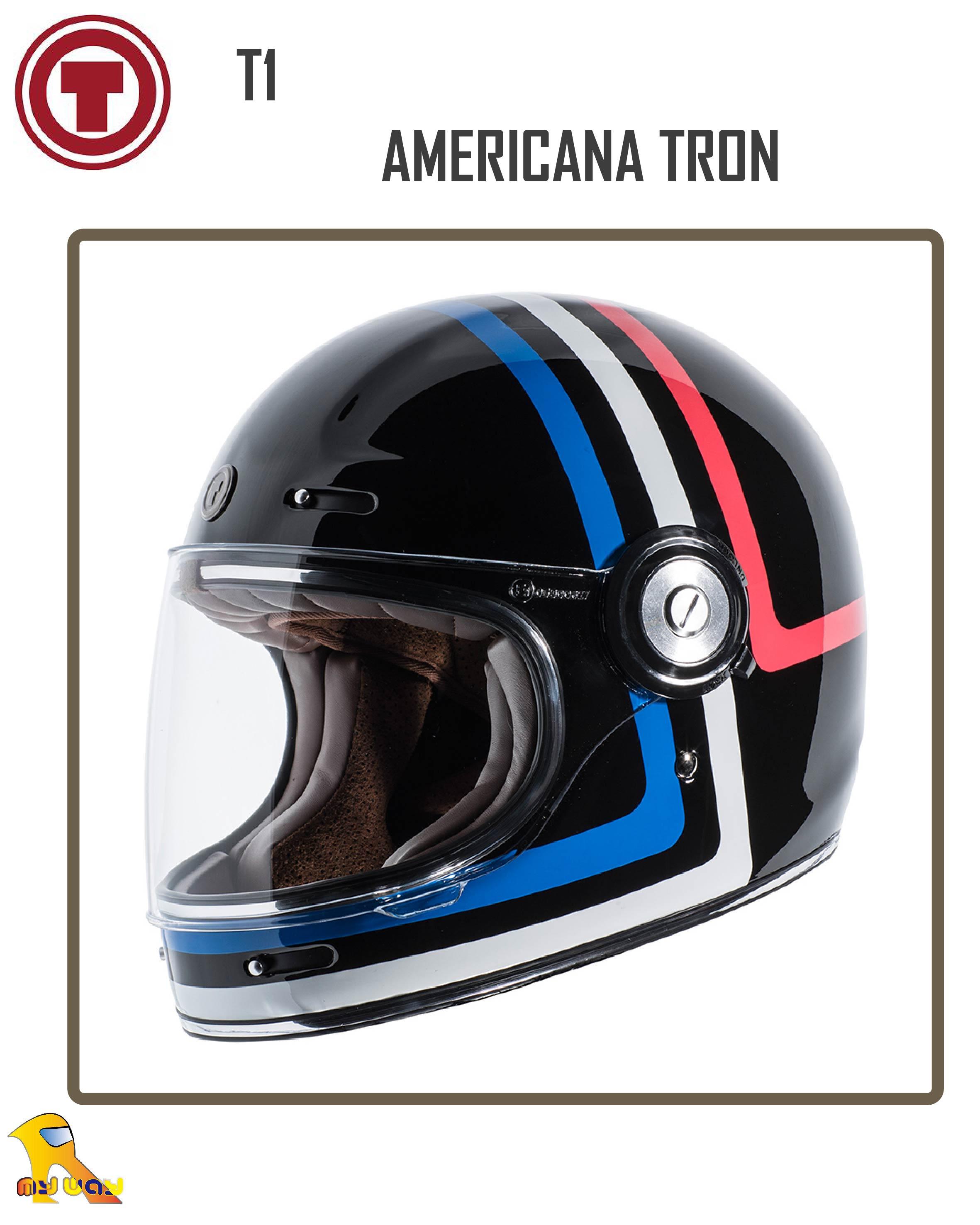 ~任我行騎士部品~ 美國 Torc T1 AMERICANA TRON 復古 樂高帽 凱旋 偉士牌 哈雷