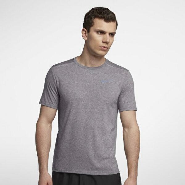 NIKEDRI-FITRISE365男裝短袖慢跑透氣柔軟舒適灰【運動世界】892814-036