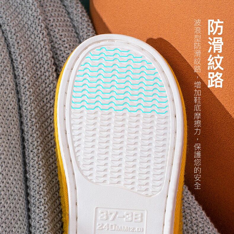 包跟保暖室內拖 柔軟拖鞋 室內拖鞋 靜音拖鞋  保暖拖鞋 冬季拖鞋 日系拖鞋 拖鞋【生活普拉斯】【A385】