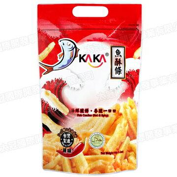 頂鮮 KAKA魚酥條-辣味90g(2包)【合迷雅好物商城】