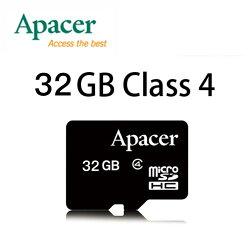 【升級Class 4】APACER MicroSD 32G /T-FLASH / Micro SD / TF 32GB ~宇瞻終身保固~