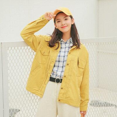 純色長袖棒球服外套樂天時尚館。預購。[全店免運]
