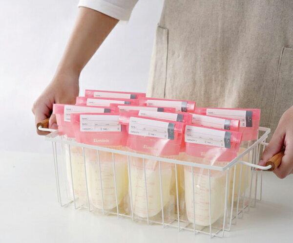 【3盒】Simba 小獅王辛巴 母乳儲存袋60入3盒-綠200ml【悅兒園婦幼生活館】【618購物節】