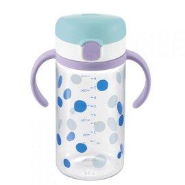 【淘氣寶寶】《日本Richell利其爾》第三代LC直飲水杯320ml【普普風】
