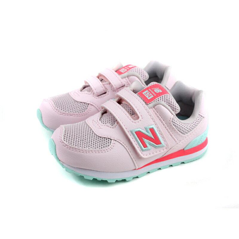 New Balance 574系列 運動鞋 復古鞋 粉紅色 小童 童鞋 no778 13.5~16cm