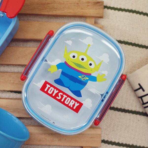 PGS7日本迪士尼系列商品-迪士尼三眼怪藍天白雲系列便當盒2格款餐盒【SEJ7812】