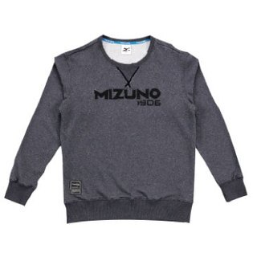 D2TA753308(黑灰)MIZUNO1906男休閒長袖T恤【美津濃MIZUNO】