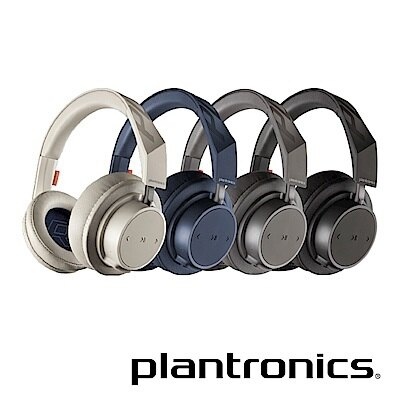 [富廉網] 繽特力【Plantronics】BackBeat GO 600 藍牙音樂耳機 卡其/藏青/深灰/炭黑