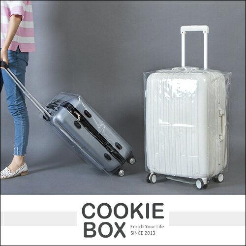 透明 超厚 單層 行李箱套 PVC 防雨 防水 保護套 耐磨 行李箱 雨衣 登機箱 旅行箱 *餅乾盒子*