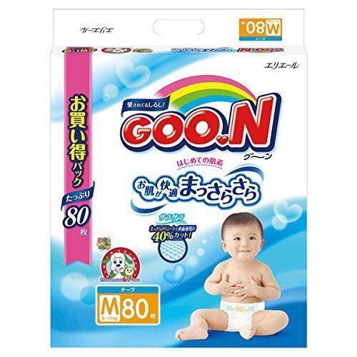 日本大王NHK限定境內版紙尿布(增量版)S / M / L / XL 1箱 2