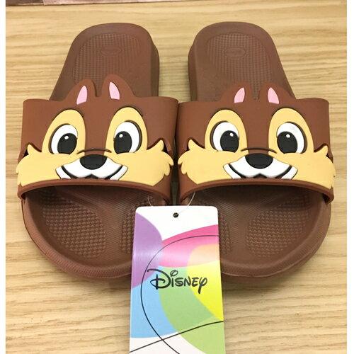 【真愛日本】17060900005 造型室內拖鞋-奇奇蒂蒂24 迪士尼 花栗鼠 奇奇蒂蒂 松鼠 室內拖 室外拖